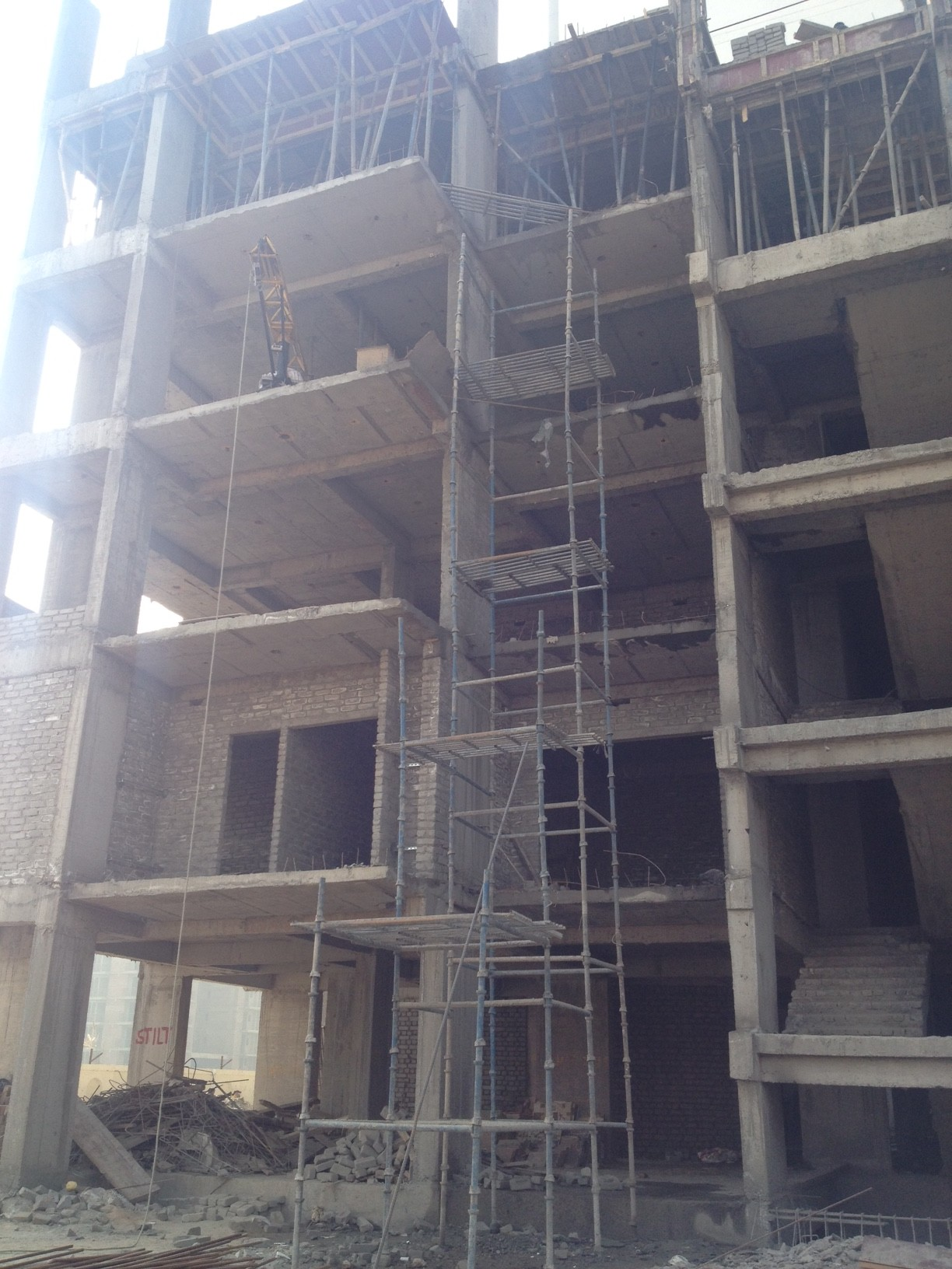 Front Tower 4 - 8th Floor casted